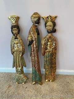 Hand painted 3 Wise Men