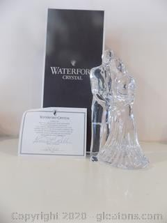 Waterford Crystal Bride and Groom