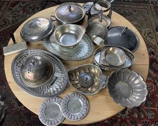 6. Lot of Various Silver Plate Items