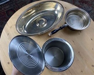 10. Small Lot of Pots and Lids