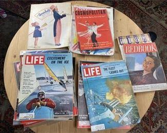 11. Lot of Antique Magazines