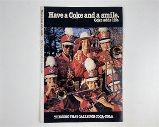 1. Coca Cola Marching Band Record Sound Sheet