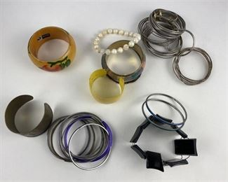 8. Large Group of Handmade Bracelets