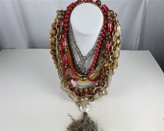 10. Lot of Estate Jewelry Necklaces