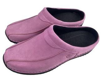 8. Ecco Pink Suede Shoes