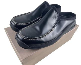 11. Cole Hahn Black Leather Shoes