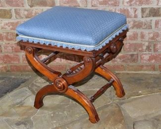 5. Cook and Company Victorian Adjustable Piano Stool