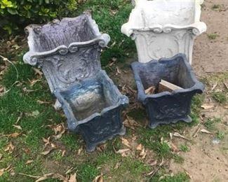 Outdoor Pots Set of 4