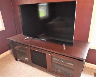 Walnut cabinet for LARGE Flatscreen TV