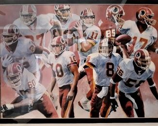 Redskins wall plaque