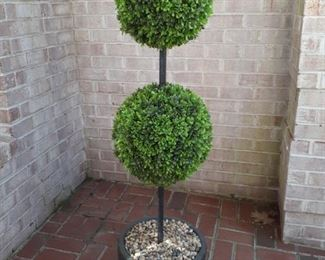 One of a Pair of Topiaries