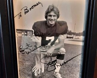 Joe Theisman autographed photograph