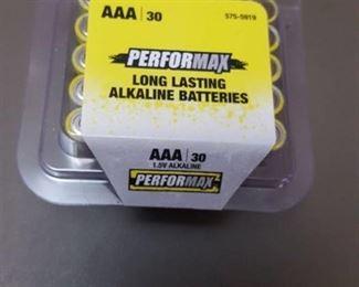 30-pack AAA batteries