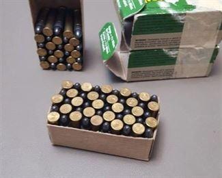 ammo, 22 caliber, 80 rounds