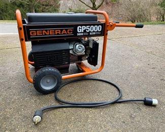Generac GP5000 Generator https://ctbids.com/#!/description/share/366783