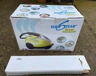 EuroSteam Green Pro-steamer https://ctbids.com/#!/description/share/366786