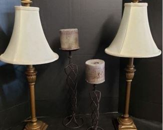 Lamps & Candle Decor https://ctbids.com/#!/description/share/365937