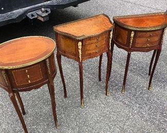 Cute small tables. $65 each.