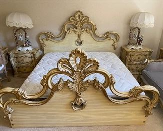 French  Cal- king  bedroom set