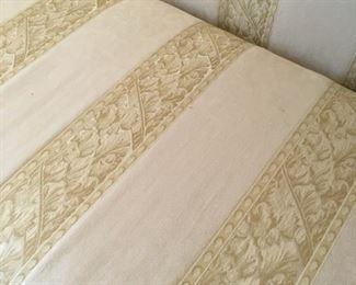 Hickory White Carved Sofa $495.00