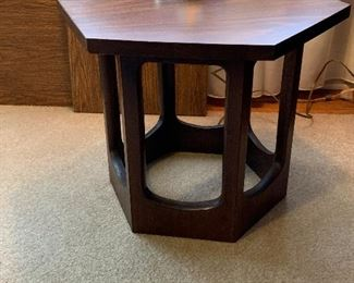 """#4Mid Century side table with laminate top 17""""x20""""x15"""" $25.00"""