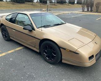 1987 Pontiac Fiero GT, Nearly MINT & Low Miles.