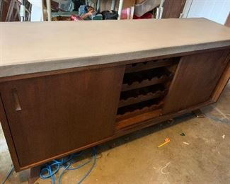 "Concrete top cabinet  6' x20x35"" Buy it Now $150 Call or Text 630-903-9747 to buy"