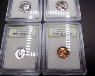 1960s Gem Proof Coins