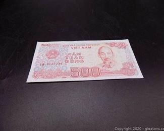1988 Nam Tram Dong Vietnam Currency