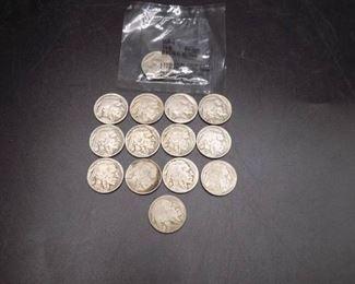 Buffalo Nickels Lot