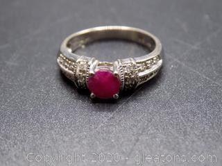 14K Ruby Ring
