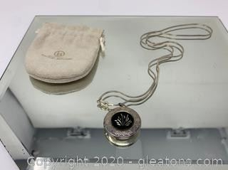 Sterling Silver Necklace and Locket
