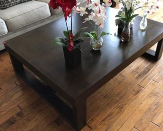 Coffee Table $250, Orchids 20 - $50