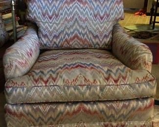 "Comfy chair. 30"" wide very comfortable; made in Hickory, NC. $185"