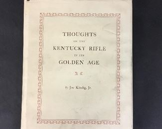 Thoughts on the Kentucky Rifle by Kindig