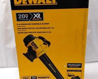 Dewalt 20v Hand Held Blower, new in box, untested
