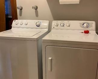 Nice clean GE washer and Dryer