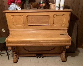 Ornate piano