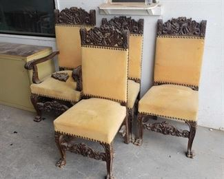4 dinning room chairs 4 dinning room chairs