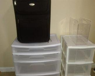 Plastic storage!! $14 and $8