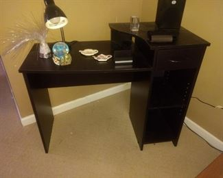 Small black desk!  Perfect for homeschooling! $25