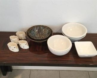 White and Multihued Serving Bowls https://ctbids.com/#!/description/share/367890