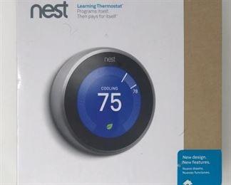 Nest Thermostat NIB, T3007ES https://ctbids.com/#!/description/share/368279