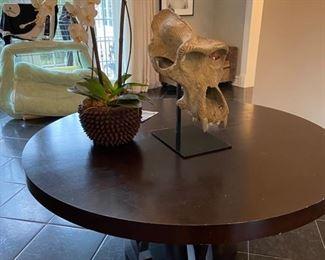 "Plantation Designs ""Elliot"" 72 inch diameter dining table"