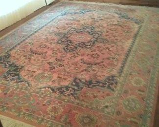 005 Karastan Wool 8.8x12 Area Rug