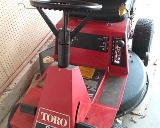 006 Toro 8.32 Riding Mower
