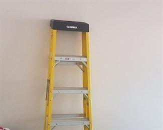 Huskey brand aluminum 6 step ladder $65