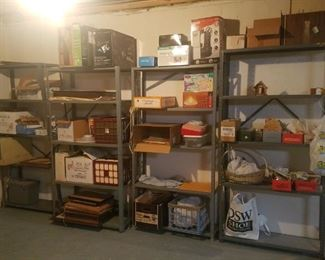 Metal 4 tier storage units