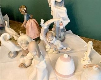 Large Lladro collection