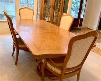 Dining Room table and chairs Priced at only $550.00 more chairs not shown.